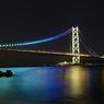 明石海峡大橋の反射