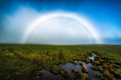 美ヶ原の白虹
