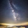 雲上の星空