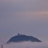 雲に浮かぶ城