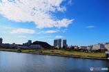 快晴の汐入公園