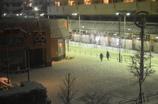 雪の汐入広場