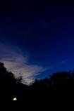 夜明け前の星空