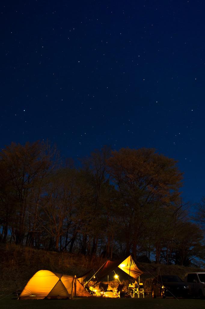 大峯の星空