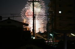 三津の花火