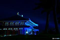 奈良のライトアップ