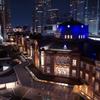 tokyo station night view
