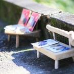 小さなベンチ~哲学の道~