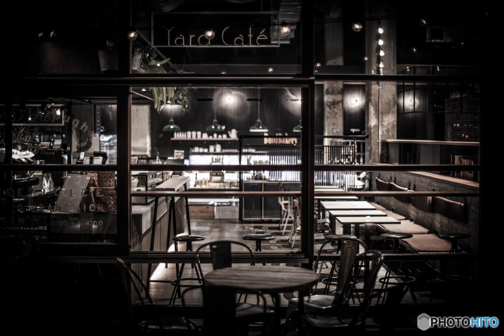 yard cafe 夜