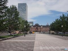 絵になる東京駅