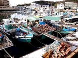 下津井漁港~タコ壺のある風景