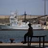 漁港の午後