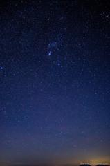 標高2,172mの星空。
