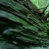 岩のミルフィーユ