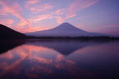 薄焼け富士
