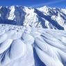 厳冬の自然美