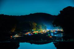 巾着田の夜Ⅱ