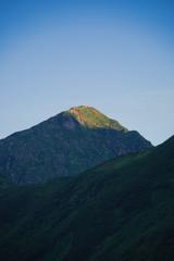 奥大日岳の朝