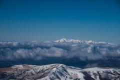 霧ヶ峰と乗鞍岳
