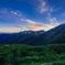赤牛岳の空