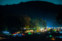 巾着田の夜
