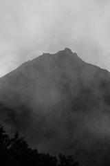 赤岳へ登る