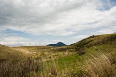 車山山頂と蓼科山
