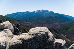 金峰山と国師ヶ岳