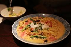味噌の和風カルボナーラ~レストラン・マルコ