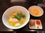 鶏そば&卵かけご飯