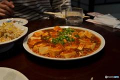 長春飯店 麻婆豆腐