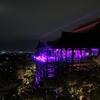 京都 清水寺 ピンクイルミネーション