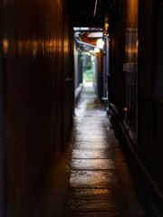 京都 先斗町の路地