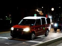 京都 新型の四つ葉タクシー