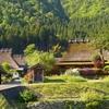 京都 美山 新緑の町