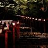 京都 貴船神社の参道