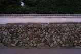京都 栗棘庵 石塀の趣