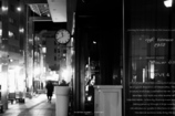 street corner at midnight