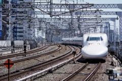 浜松駅上りホーム至名古屋側