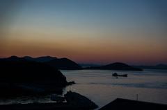 庵治町から見る夕焼け1