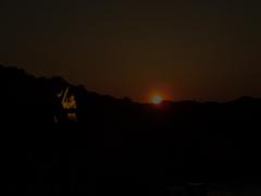 庵治観光ホテルから見る夕日