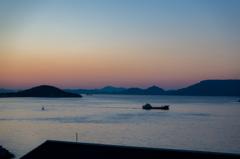 庵治町から見る夕焼け2