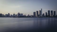 沿岸の風景