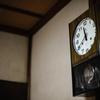 愛知時計の柱時計。