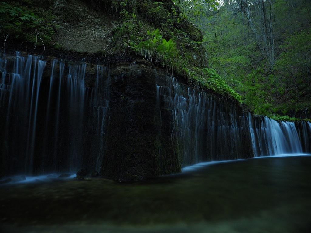 長野 白糸の滝