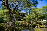 銀閣と庭園