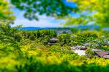 銀閣寺境内ジオラマ風