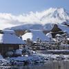忍野富士 冬景