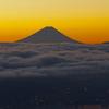 富士と雲海