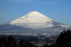 乙女からの富士山